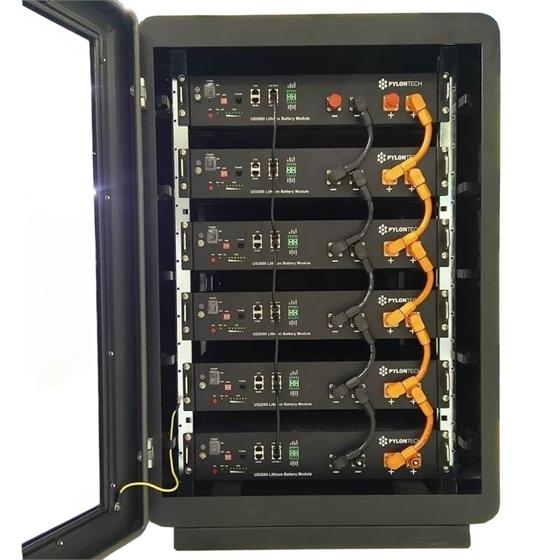 Cabinet 19 pollici, nero, adatto ad un massimo di 6 moduli batteria