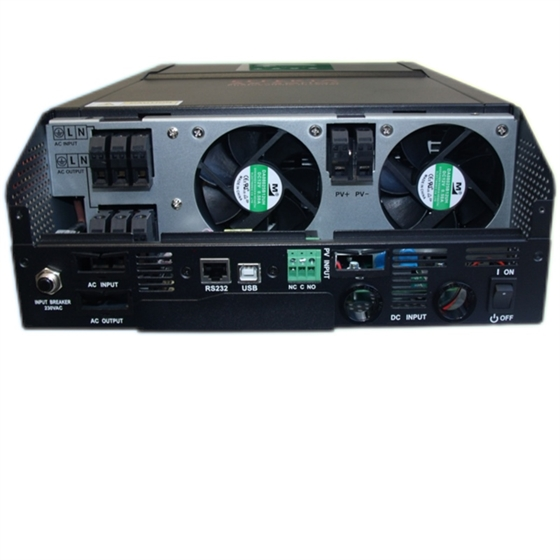 AX-M1 5000-48 - Inverter Effekta 5000VA / 5000W / 48V - Caricatore MPPT 80 Amp MPPT - NEW BLACK