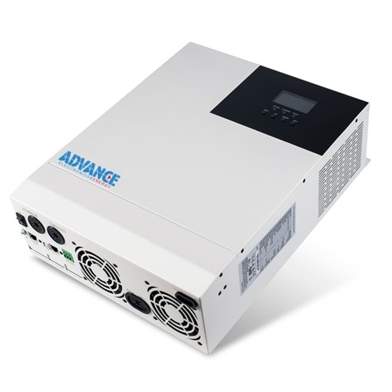 HF4850 - Inverter Alto voltaggio ADVANCE 5000VA/5000W/48V - 500 Vcc max ingresso solare - Caricatore solare MPPT 80Amp - WiFi in