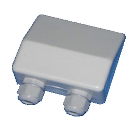 SAC008 - Box passacavo doppio sigillato IP66 per pannelli - Barche e Camper