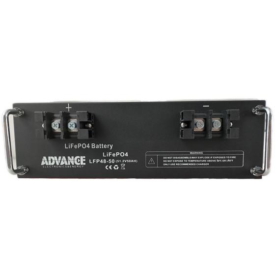 LFP48-50 - Batteria Litio ADVANCE LiFePO4 51,2V / 50Ah